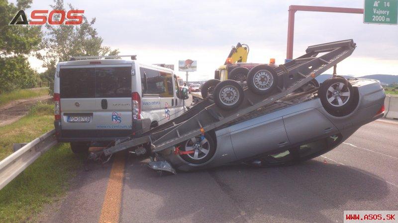Vozík nemal funkčnú nájazdovú brzdu