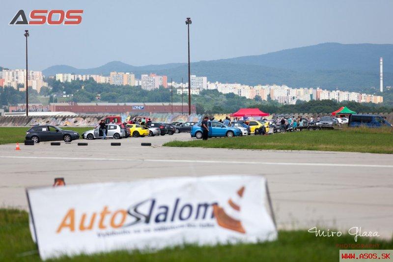 III. AutoSlalom FUCHS 2013 - letisko Trenčín