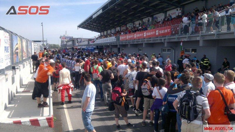 ASOS na Slovakia ringu - WTCC