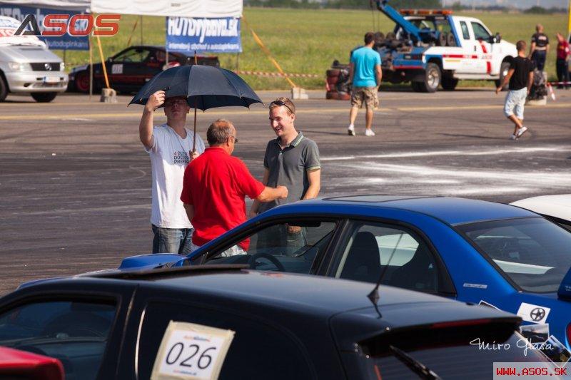 AutoSlalom 2012 letisko Piešťany