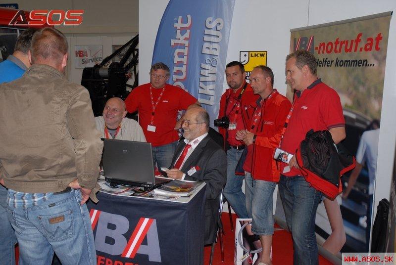 Výstava odťahovacej techniky Kassel 2011