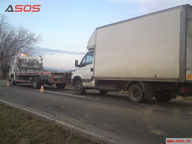 Porucha Iveco Nový Tekov 08.02.2011
