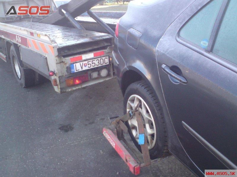 Porucha Renault Laguna Levice 09.02.2011