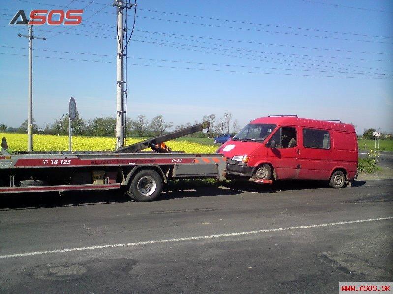 Porucha vozdila Ford Transit