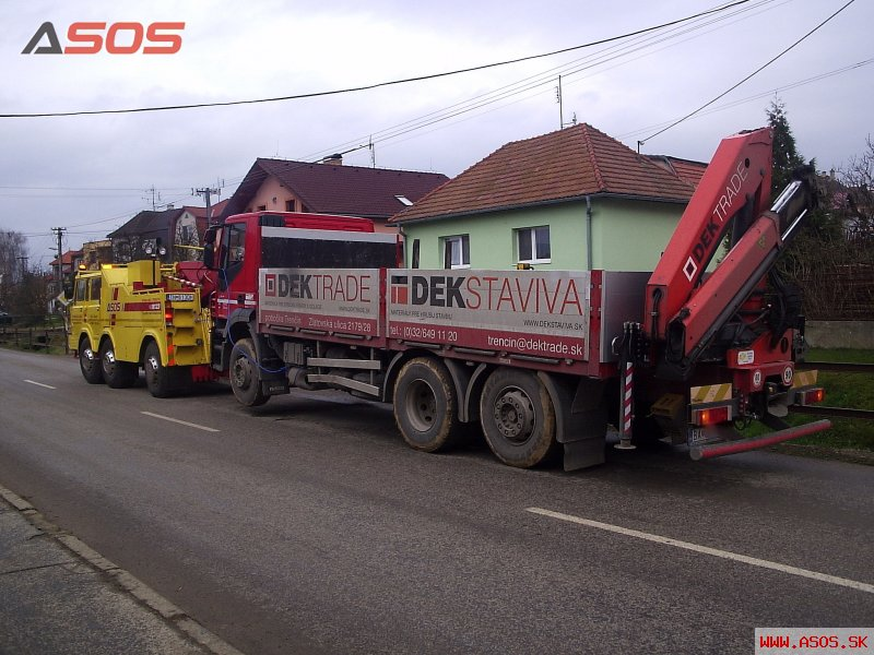 Porucha nákladného vozidla 20.11.2010