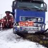 Dopravná nehoda pri Detve 03.12.2010