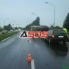 Nehoda Renault Thalia v Leviciach