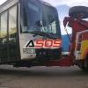 Dopravná nehoda autobusu pri Balážoch
