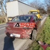Dopravná nehoda vozidla Mazda