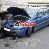 Dopravná nehoda Renault Mégane