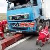 Dopravná nehoda kamiónu na D2