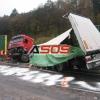 Dopravná nehoda kamiónu 25.10.2010