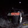 Dopravná nehoda pri Detve 26.12.2010