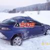 Dopravná nehoda pri Detve 30.12.2010